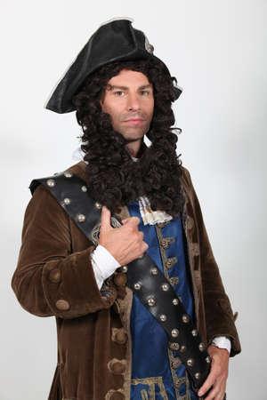 jack up: Jack Sparrow Stock Photo