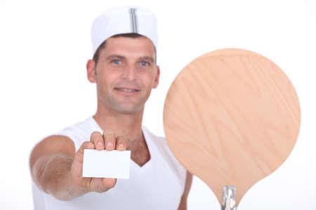 Pizza chef Stock Photo - 16472357