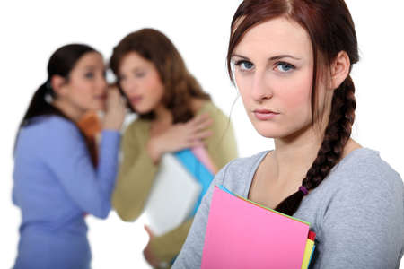 Female victim of bullying Stock Photo - 16472151