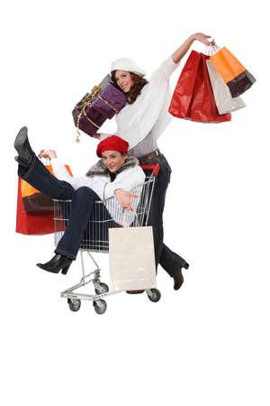 Women shopping Stock Photo - 16472322