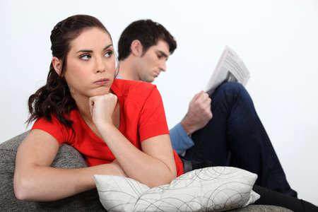 choleric: angry couple