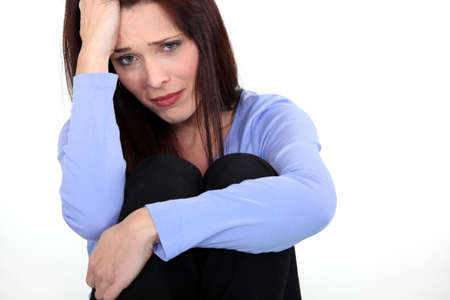 Woman crying Stock Photo - 16472212