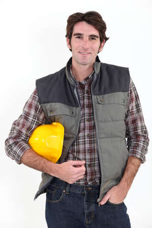 Confident builder Stock Photo - 16471944
