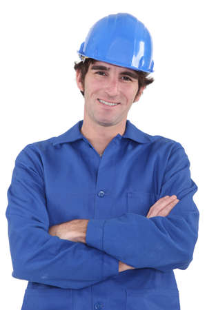 Portrait of smiling workers Stock Photo - 16471962