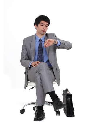Executive businessman Stock Photo - 16547045