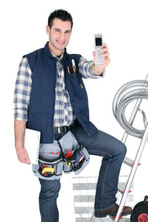 selfemployed: Self-employed electrician