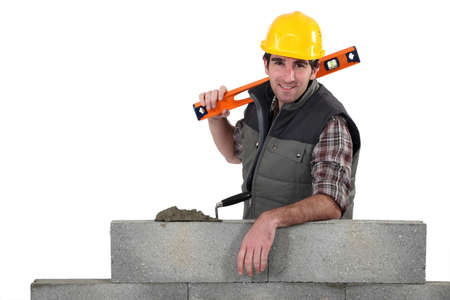 Building a wall photo