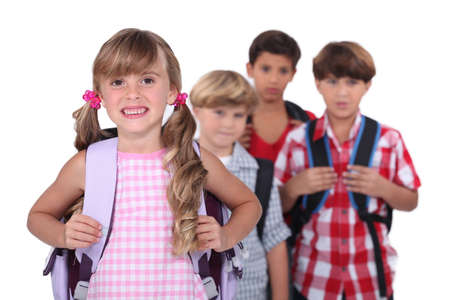 School children Stock Photo - 16670076