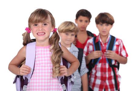 School children Stock Photo - 16670076