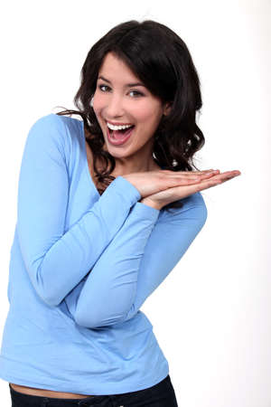 An excited woman Stock Photo - 16669468