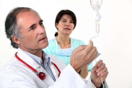 Medical drip photo