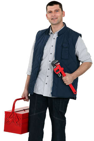 Plumber equipped for any job photo