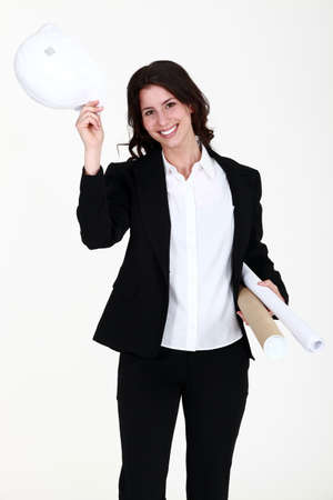 female architect: Successful female architect