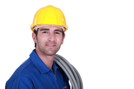 An electrician. Stock Photo - 16729924