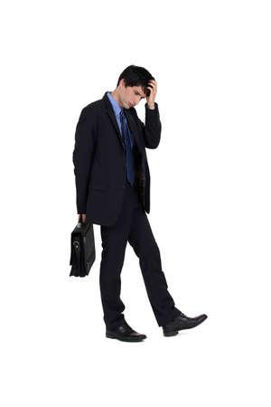 Brooding Executive Stock Photo - 16804511
