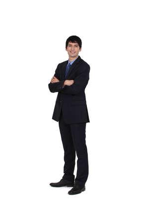 suave: Portrait of a businessman