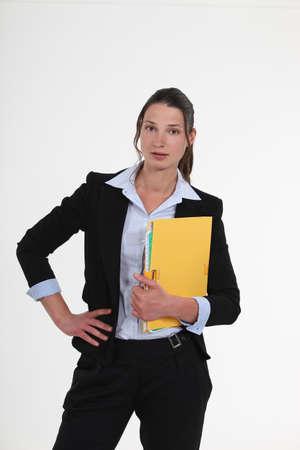 Confident employee Stock Photo - 16807750