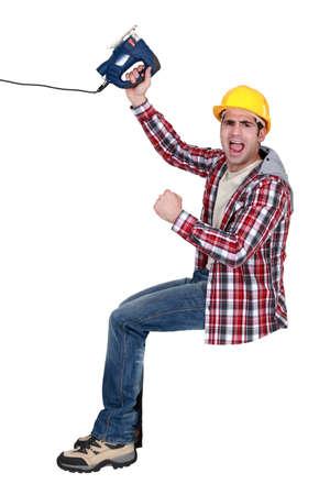 cheerless: craftsman yelling