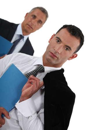 ceos: Two CEOs  Stock Photo