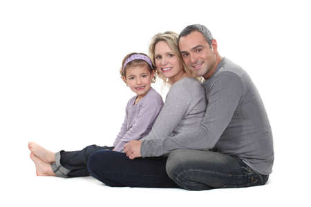 Portrait of a close-knit family Stock Photo - 16842100