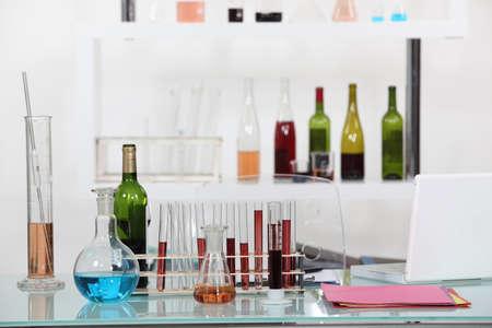 voids: Laboratory Instruments Stock Photo