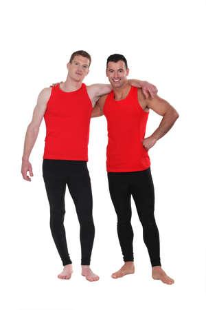 bailarin hombre: Hombres con ropa de entrenamiento