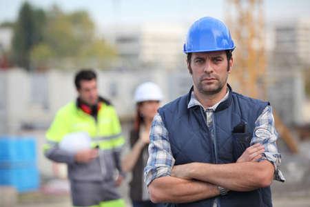 Foreman on site photo
