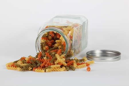twists: Jar of pasta twists