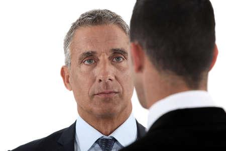 facing: Face to face