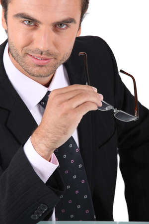 slick: A savvy businessman