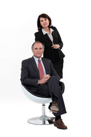 55 60 years: A team of business professionals