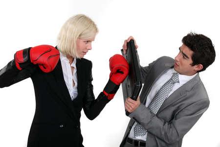 Empresarios boxeo