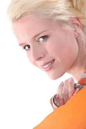 Blond woman Stock Photo - 17220097