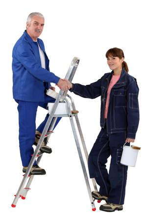 life partner: Decorating team