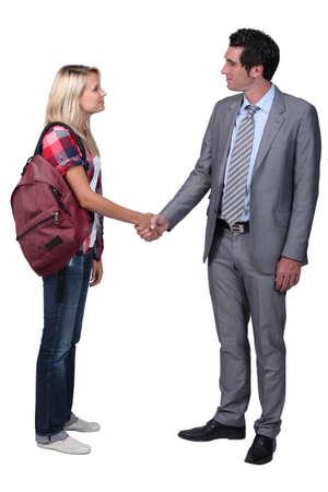 informal: Formal greeting