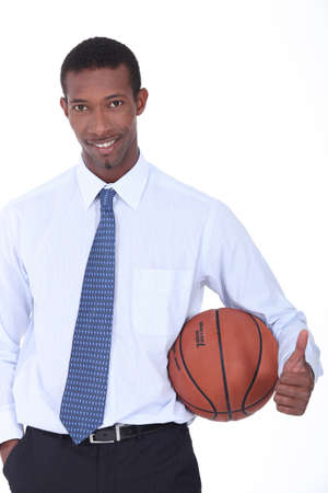 Basketball coach photo