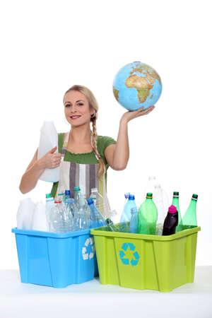環境メッセージ 写真素材