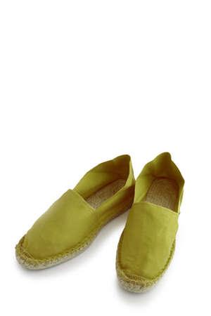 Green espadrilles photo