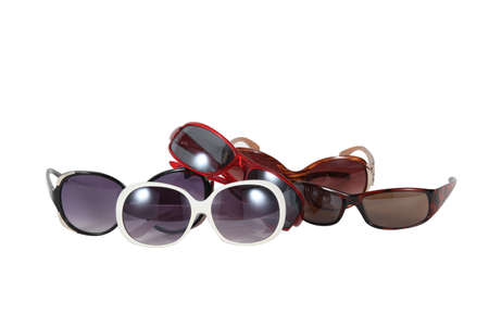 tinted: Sunglasses collection Stock Photo