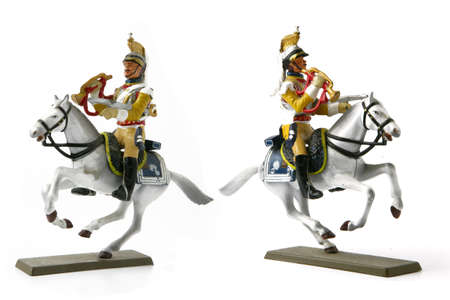 Two cavalier figurines Stock Photo - 17511539