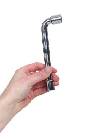 socket wrench: Socket wrench