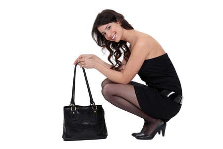 smartly: Smartly dressed woman
