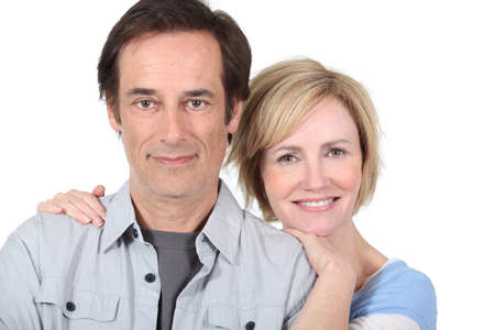 portrait of a couple Stock Photo - 17506262