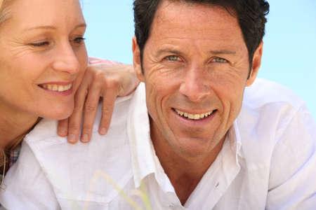 man 40 50: Happy couple
