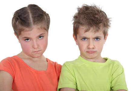 ludicrous: Upset brother and sister