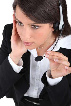unobtrusive: Interferences in communication Stock Photo