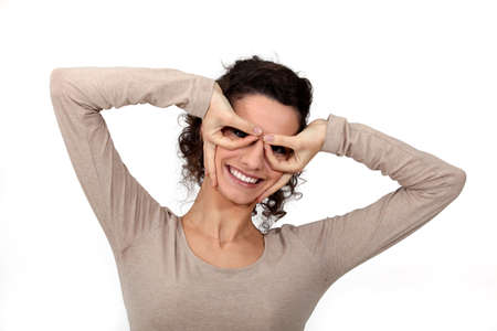 superpowers: Woman covering her eyes