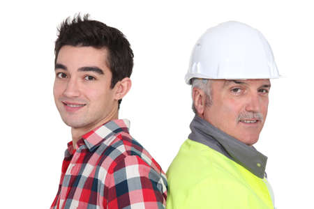 younger: Construction crew