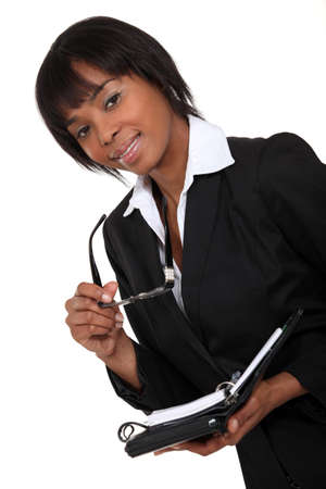 afroamerican: Attractive Afro-American Stock Photo