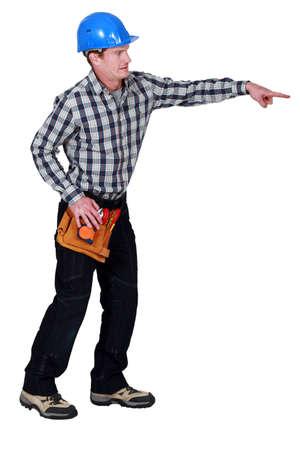 btp: Carpenter pointing